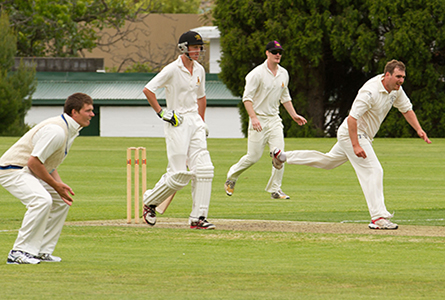 Old Boys V 1st XI Cricket 2012