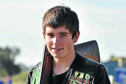 Christopher Jenkins has taken his shooting skills to a national level.