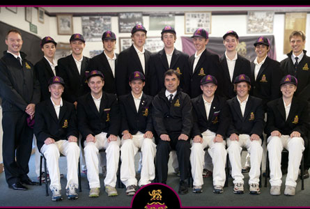 The Hutchins School England Cricket Tour Group.