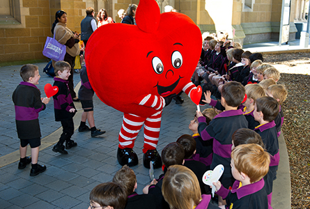 ELC helps out at World Heart Day