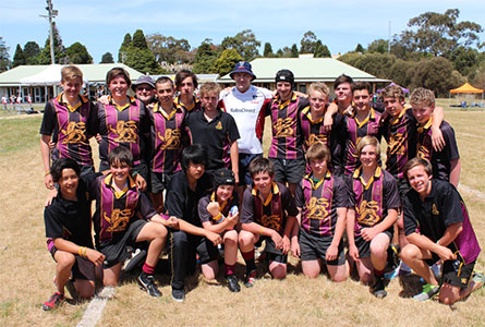 Hutchins Rugby success
