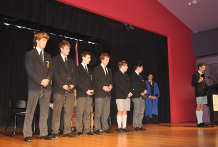 Prefect Induction July 2011