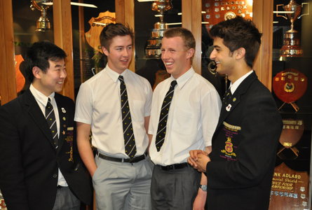 Allen Chen, Frank Burridge, Matthew Allanby and Nanak Narulla are among this year's batch of high achievers.