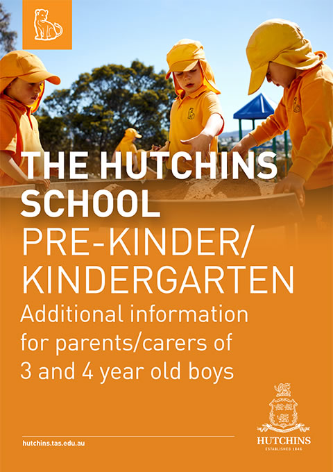 Pre-Kindergarten and Kindergarten additional information for parents of 3 and 4 year old boys