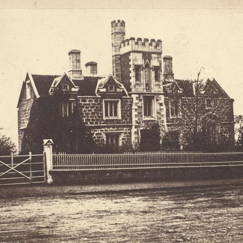 Hutchins School, 1865 (S Clifford)