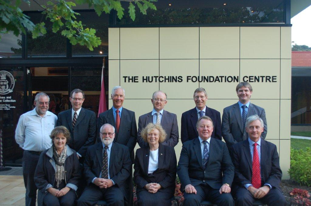Members of The Foundation Board at the official opening of the Hutchins Foundation Centre