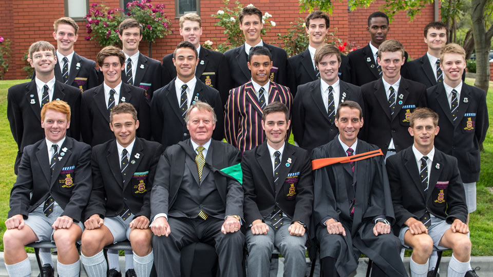 The 2014 leadership group have been inducted at the first Headmaster's Assembly for 2014.