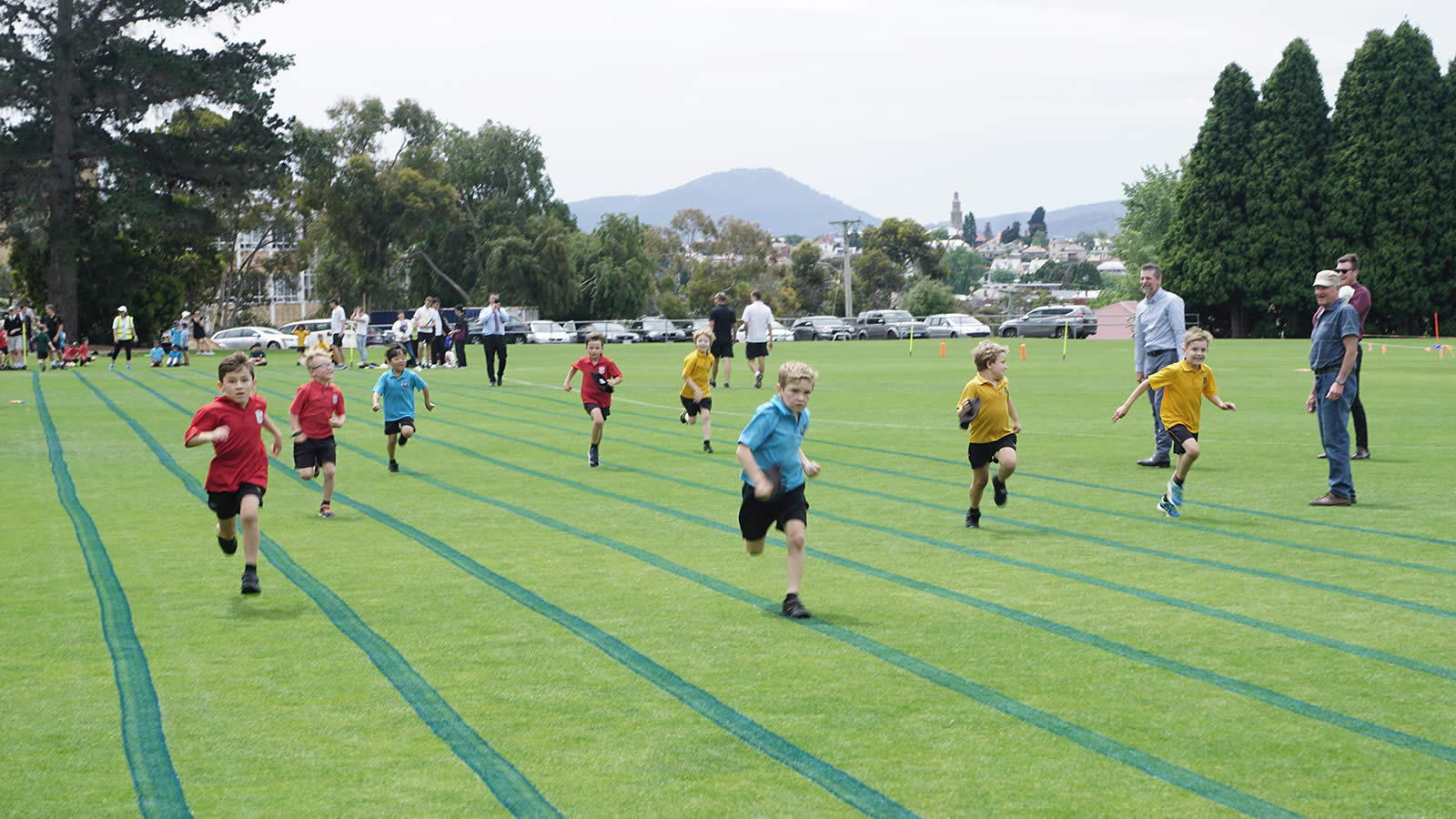 Ready, set, go! ELC Athletics Carnival