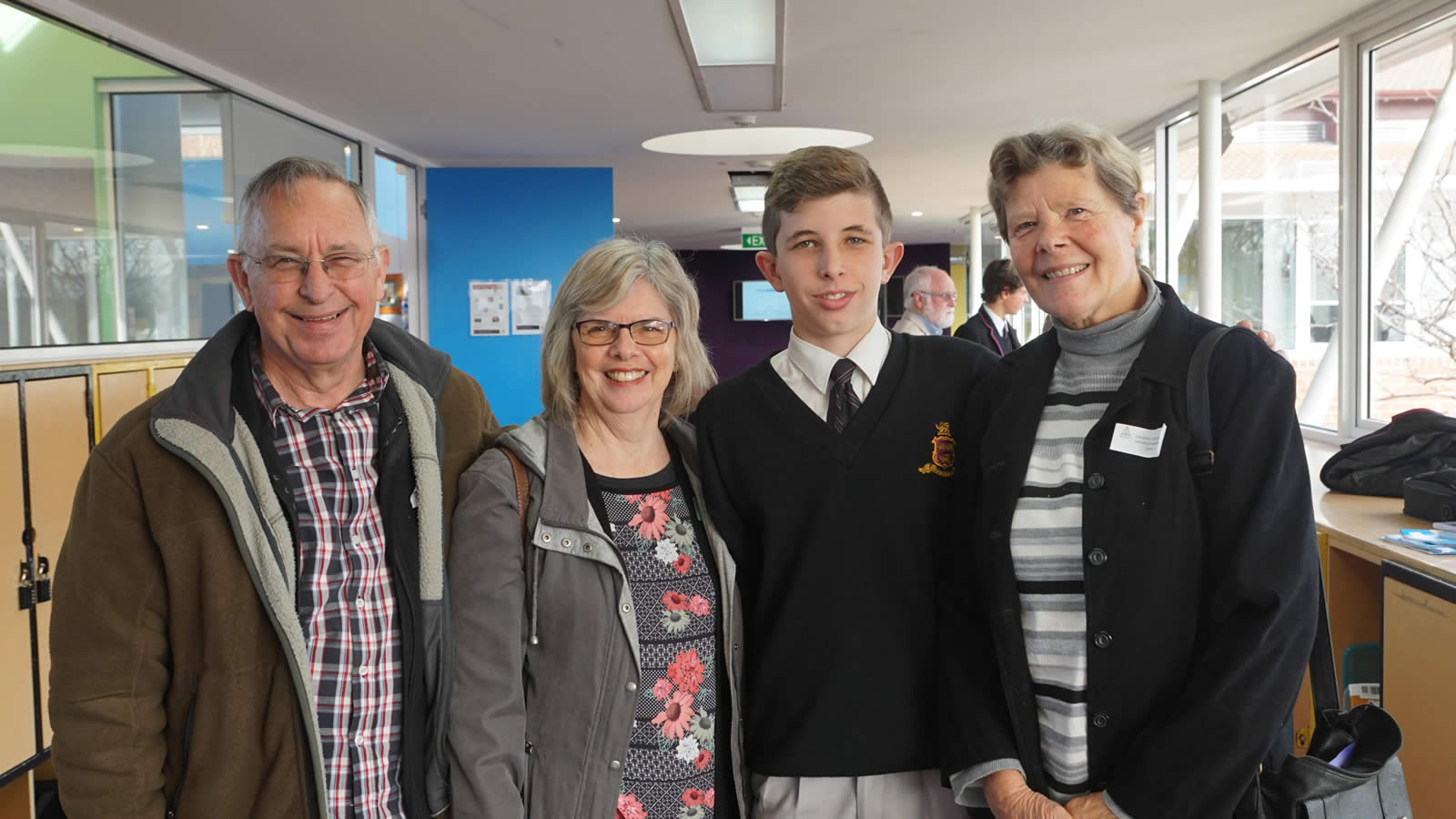 2018 Middle and Senior School Grandparents' Day