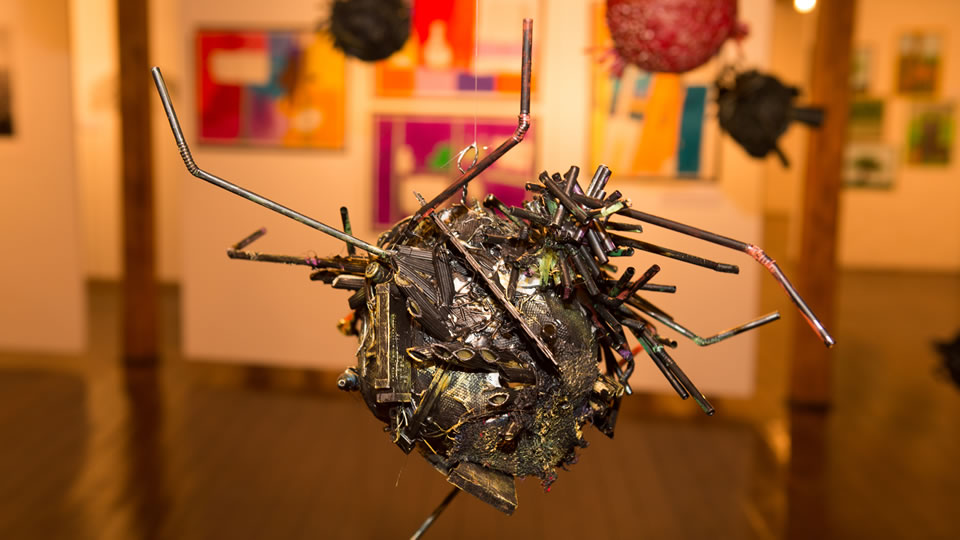 Junior School winner – 'Texture Sculptures'