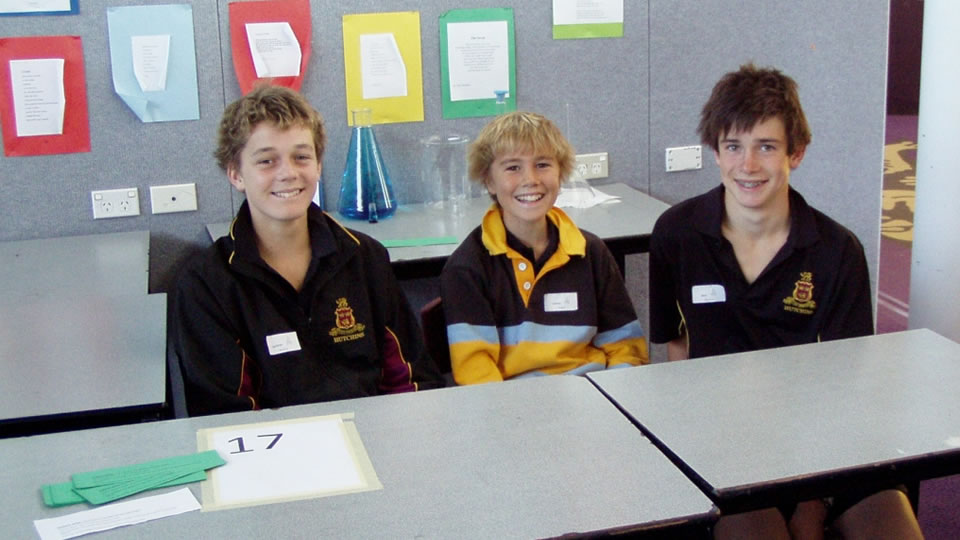 Lachie Brumby Jimmy Padgett and Ben Johnston