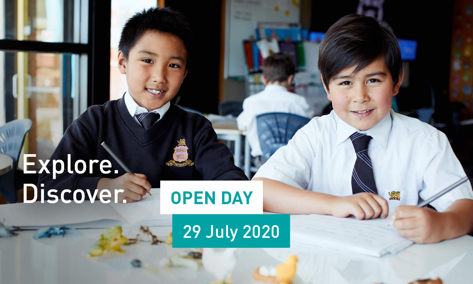 Explore the opportunities at our Open Day