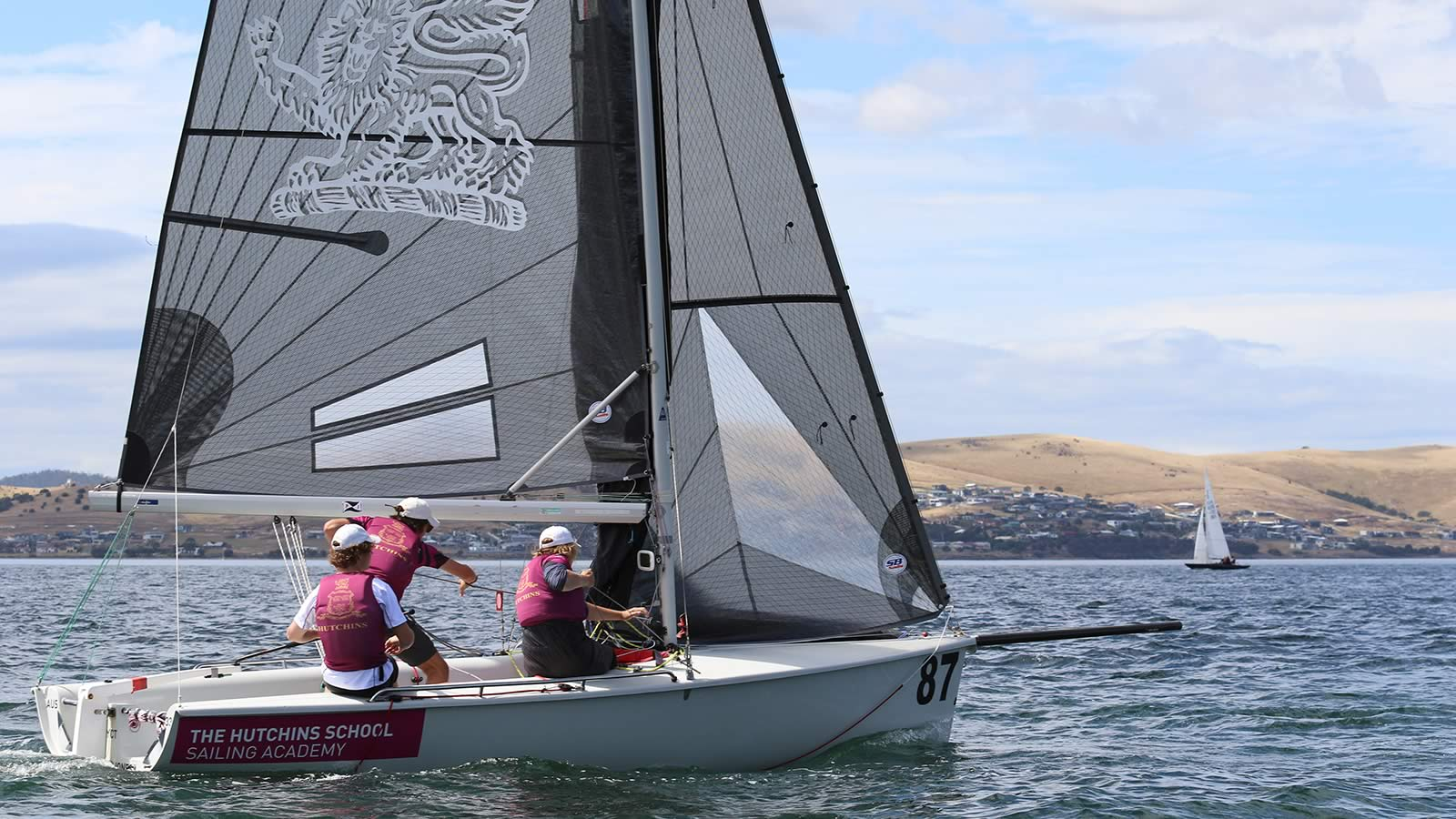 The Hutchins School Sailing: SB20 Tasmanian Championship