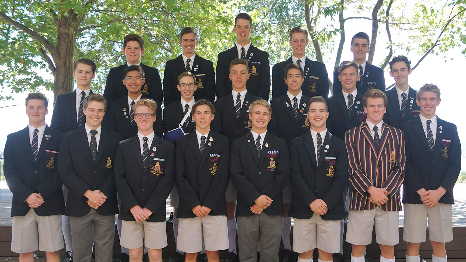 2018 Captains, Prefects, School Whip and Chapel Warden