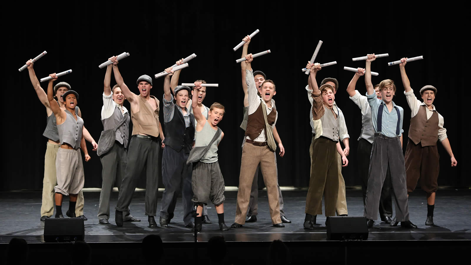 The Musical Theatre routine – 'Newsies'.