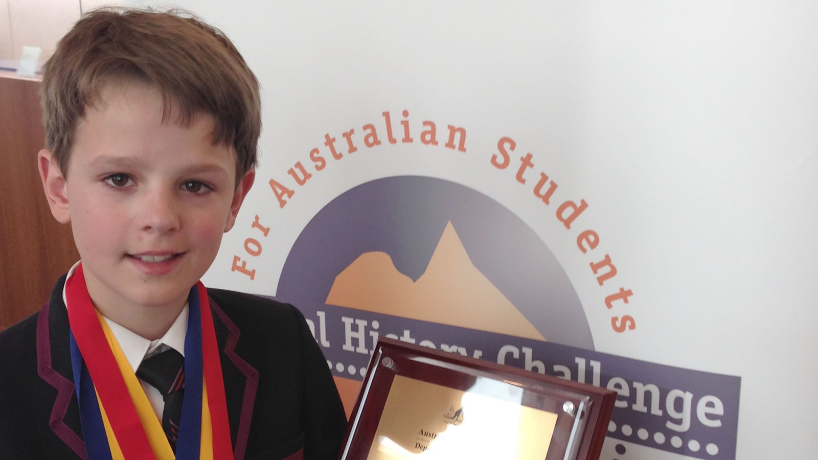 Angus Christie, Young National Historian of the Year (large)