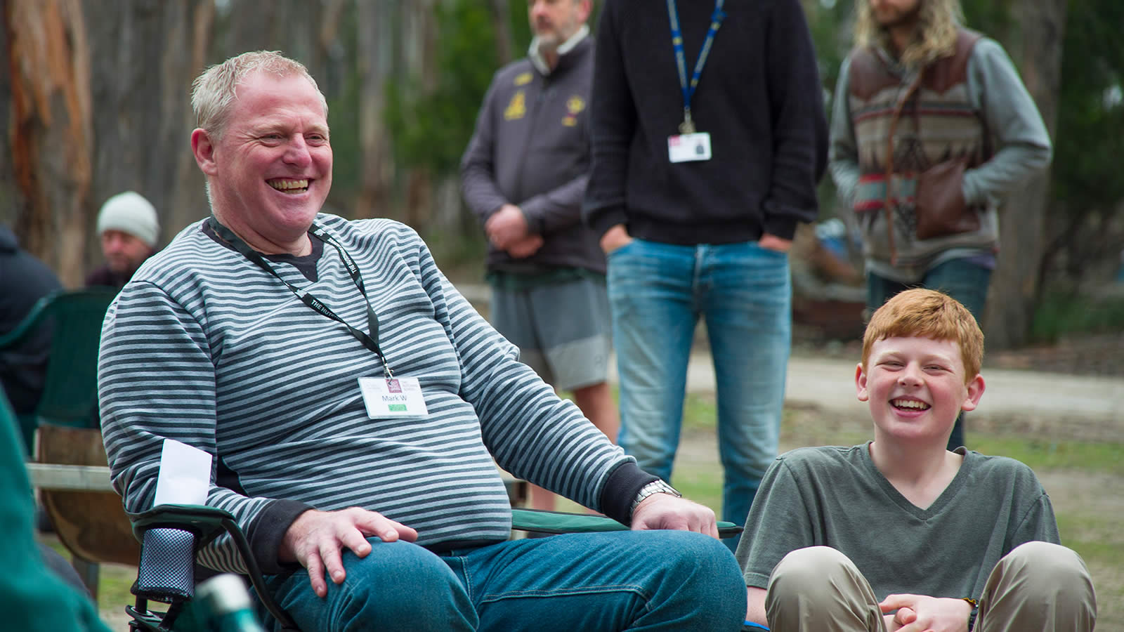 Year 7 Father/Significant Male Mentor and Son Camp