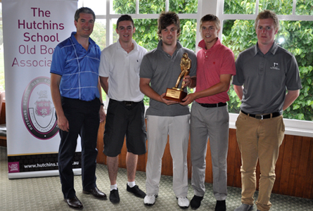 Young guns take out golf championship