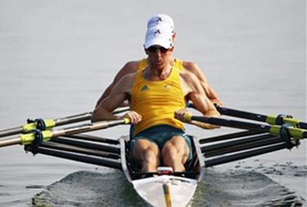 Old boys chase their Olympic dream. Photo courtesy of Rowing Tasmania.