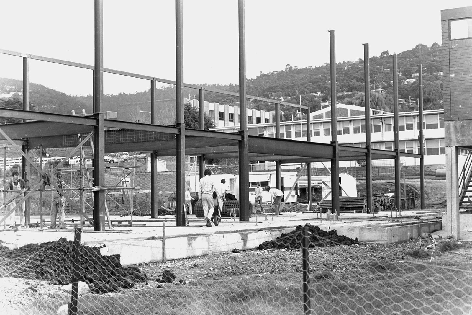 1979 construction of the new Middle School