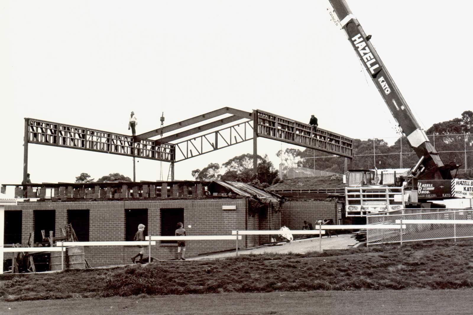 1980 construction of the Middle School