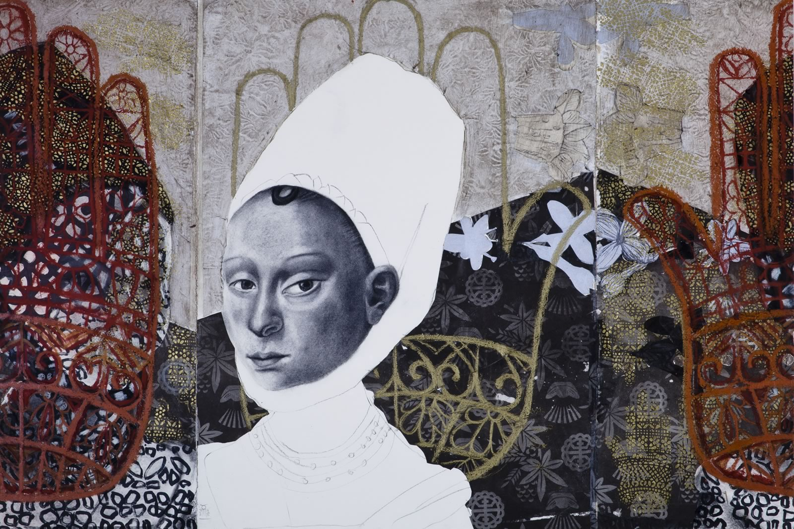 1998 Winner of The Hutchins Art Prize - Jaqui Stockdale - The Handmaid's Tale