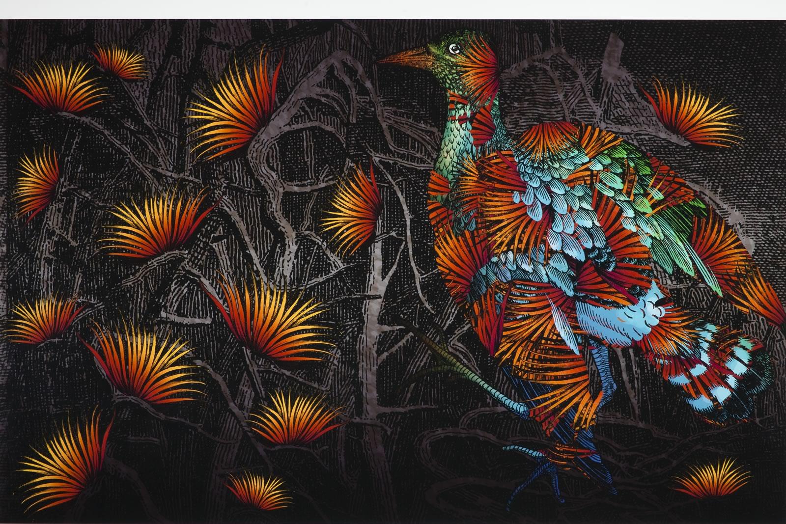 2009 Winner of The Hutchins Art Prize - Milan Milojevic, Tasmania - Pinnacle Grouse (after Audubon)