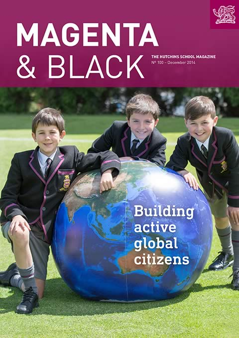 The Hutchins School Magenta & Black No.100 December 2014