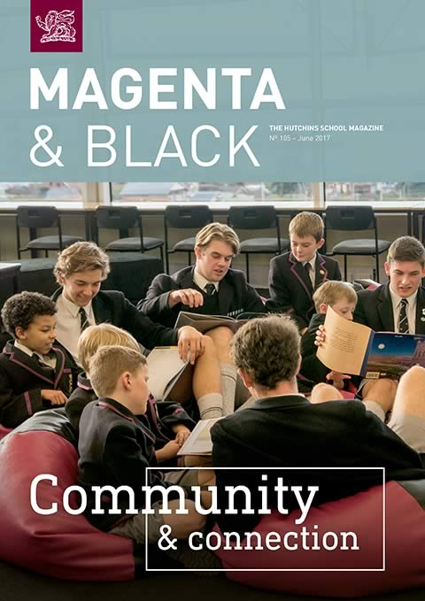 The Hutchins School Magenta & Black No.105 June 2017