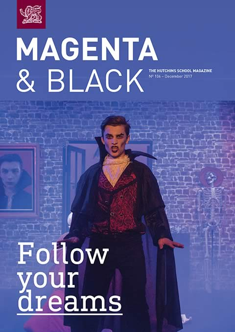 The Hutchins School Magenta & Black No.106 December 2017