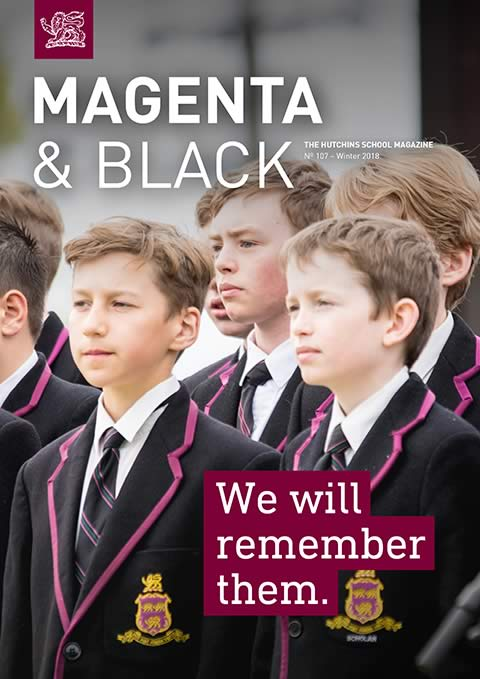 The Hutchins School Magenta & Black No.107 Winter 2018