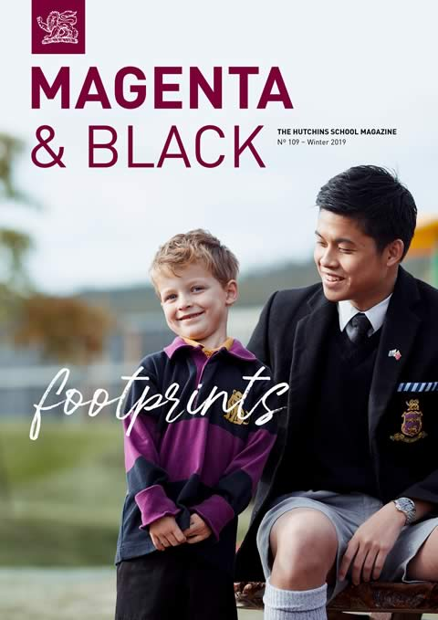 The Hutchins School Magenta & Black No.109 Winter 2019