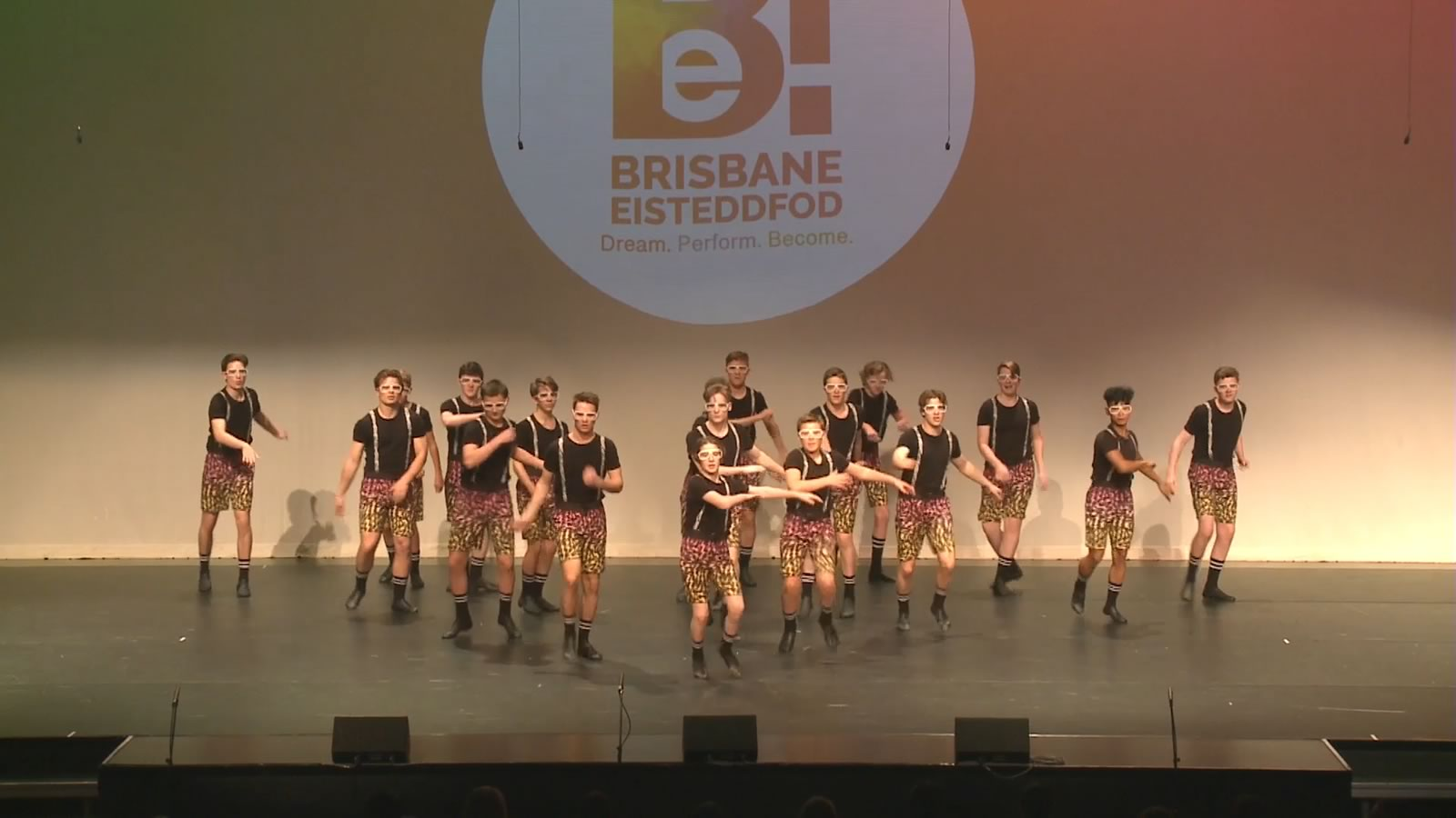 Senior Dance Troupe at the Brisbane Eisteddfod 2019