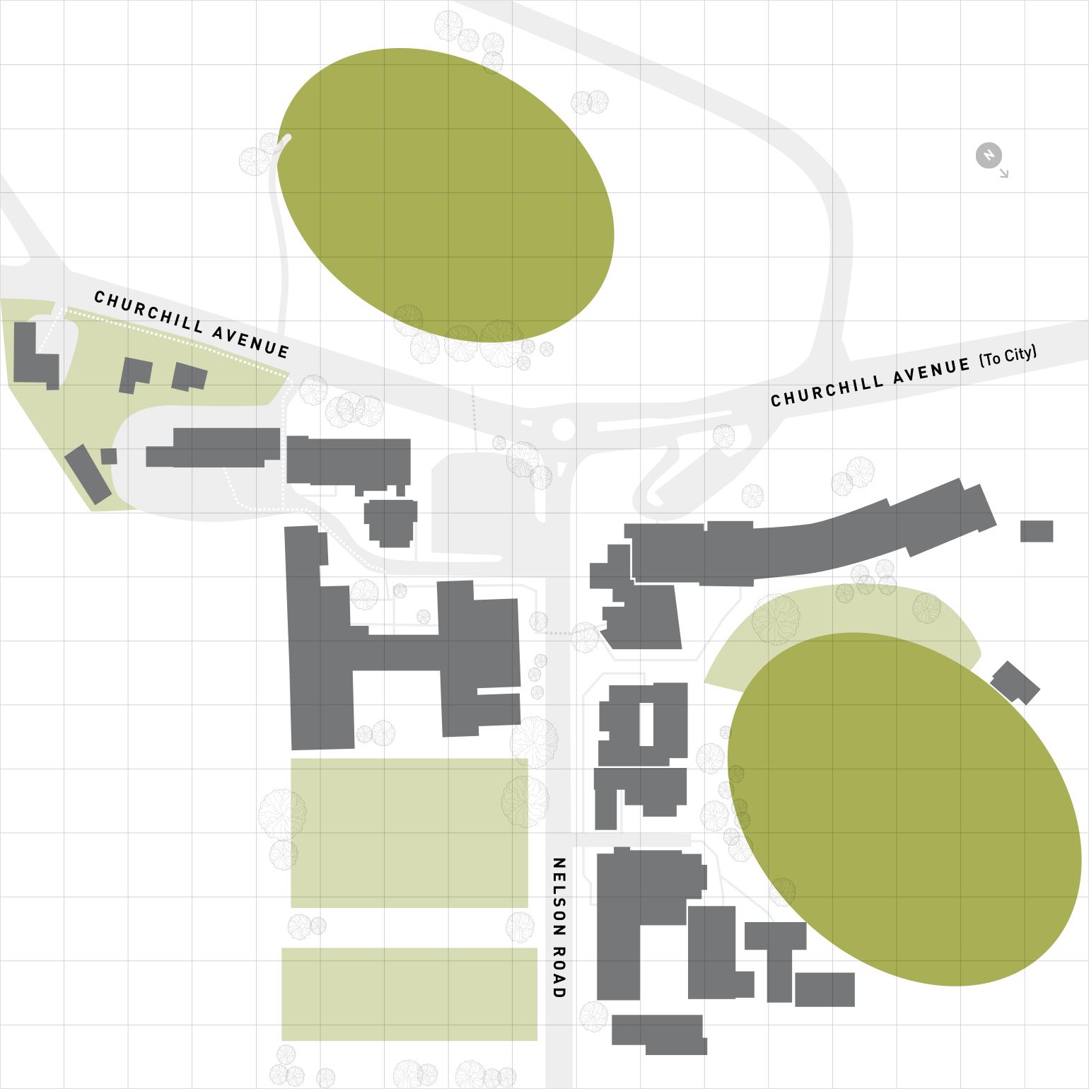 Hutchins campus map
